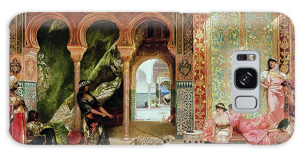 Joseph Galaxy Case - A Royal Palace In Morocco by Benjamin Jean Joseph Constant
