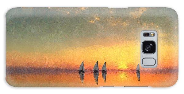 A-sailing... Galaxy Case by Tim Fillingim