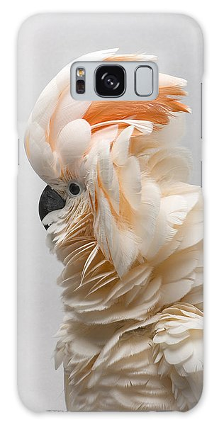 Cockatoo Galaxy S8 Case - A Salmon-crested Cockatoo by Joel Sartore