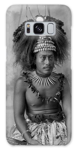 A Samoan High Chief Galaxy Case