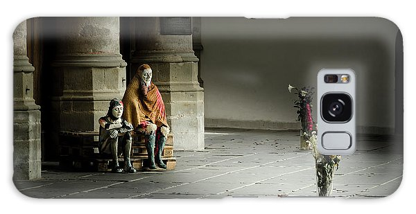 A Scene In Oude Kerk Amsterdam Galaxy Case by RicardMN Photography