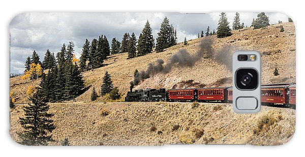 A Scenic Railroad Steam Train, Near Antonito In Conejos County In Colorado Galaxy Case by Carol M Highsmith