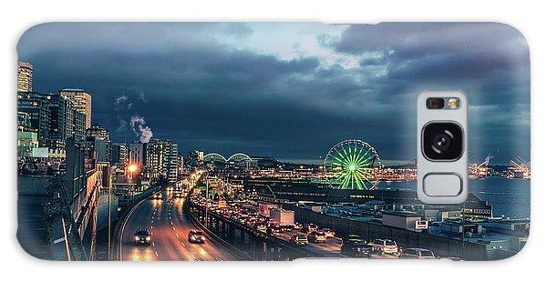 A Seattle Evening Galaxy Case