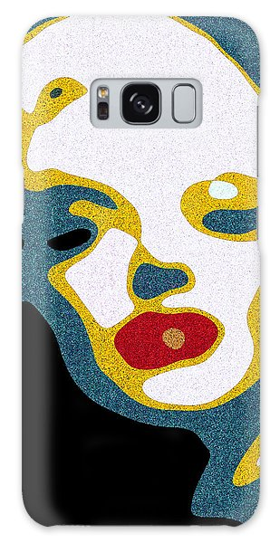 A Sexy Glance Galaxy Case by Pedro L Gili
