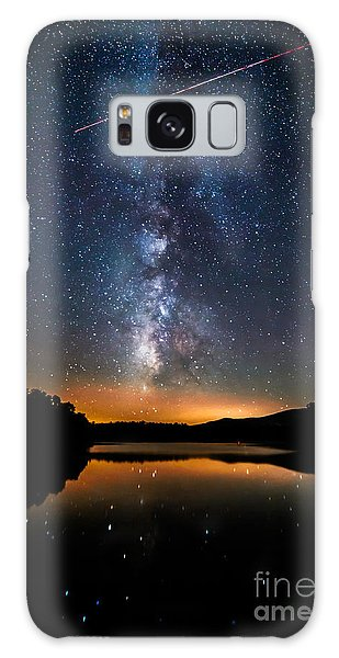 A Shooting Star Galaxy Case by Robert Loe