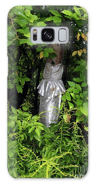A Silver Gown In A Glade Galaxy Case