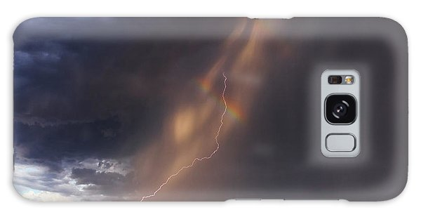 Galaxy Case featuring the photograph A Sliver Of Color by Rick Furmanek