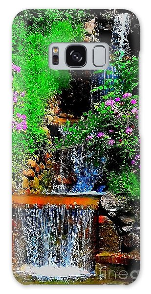 A Small Waterfall In Hbg Sweden Galaxy Case