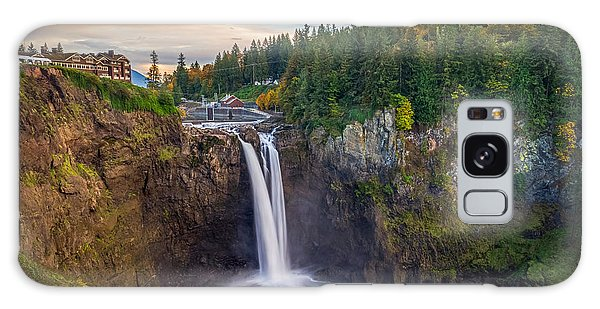 A Snoqualmie Falls  Autumn Galaxy Case