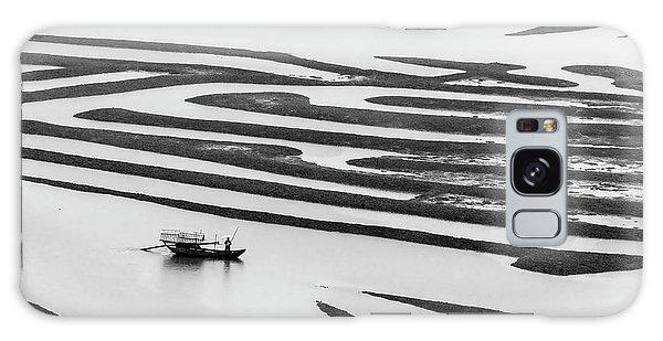 A Solitary Boatman. Galaxy Case