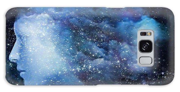 A Soul In The Sky Galaxy Case by Gun Legler