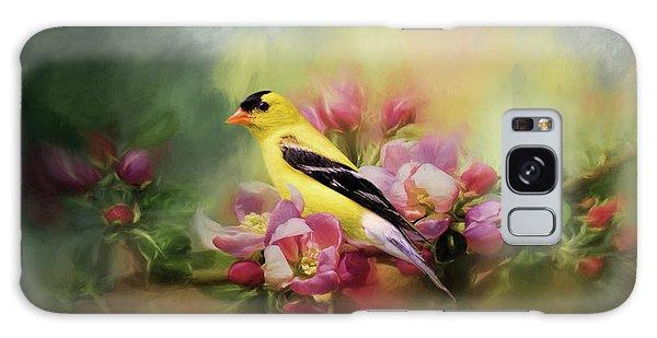 A Splash Of Joy Bird Art Galaxy Case