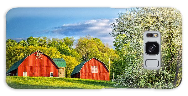 Wellsboro Galaxy Case - A Spring Evening In The Country by Carolyn Derstine