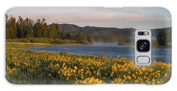 A Spring Morning Galaxy Case by Leland D Howard