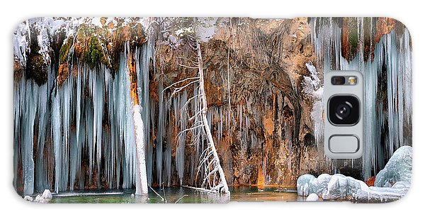 A Spring That Knows No Summer. - Hanging Lake Print Galaxy Case