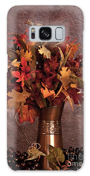A Still Life For Autumn Galaxy Case by Sherry Hallemeier