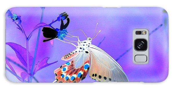 A Strange Butterfly Dream Galaxy Case