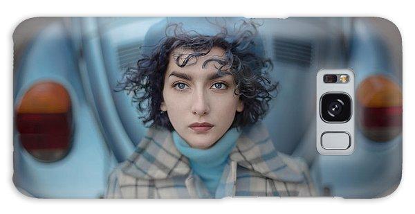 Volkswagen Galaxy Case - A Study In Blue by Anka Zhuravleva