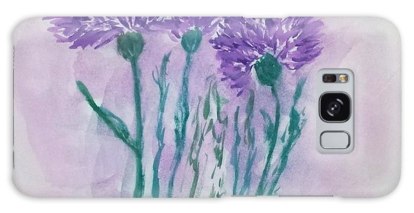 A Study In Purple Galaxy Case