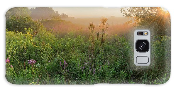 Sunrise Galaxy Case - A Summer Morning 2016 Square by Bill Wakeley