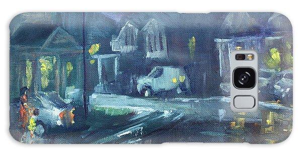 Georgetown Galaxy S8 Case - A Summer Rainy Night by Ylli Haruni