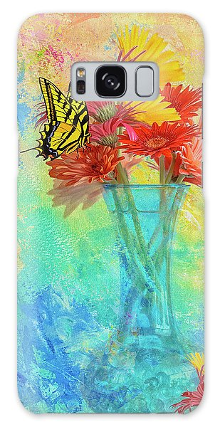 A Summer Time Bouquet Galaxy Case by Diane Schuster