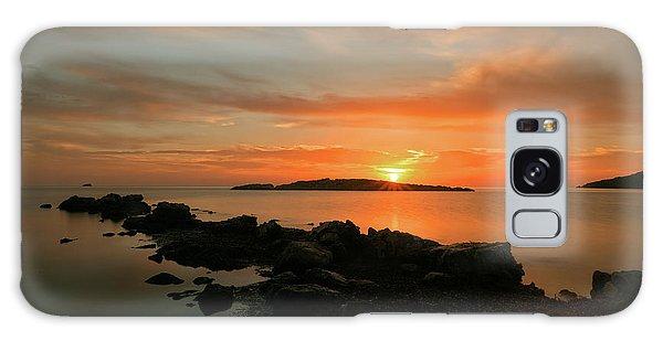 A Sunset In Ibiza Galaxy Case