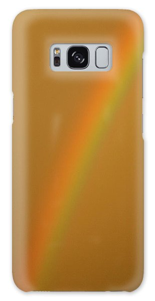 A Sunset Rainbow Galaxy Case