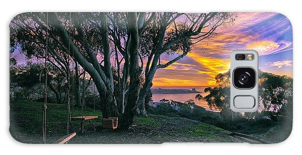 A Swinging Sunset From The Secret Swings Of La Jolla Galaxy Case