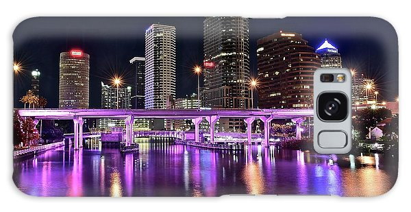 A Tampa Night Galaxy Case by Frozen in Time Fine Art Photography