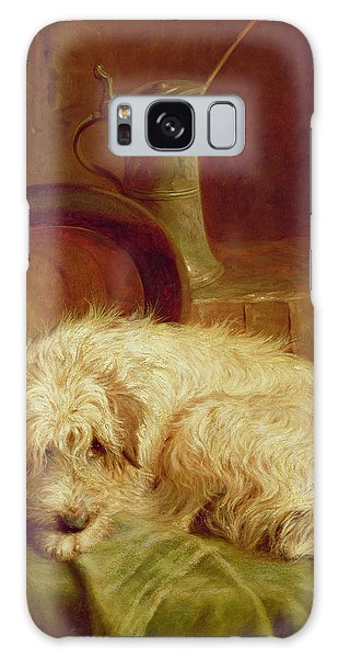 Portraiture Galaxy Case - A Terrier by John Fitz Marshall