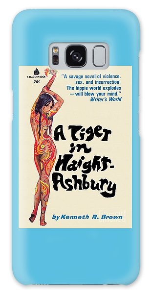 A Tiger In Haight-ashbury Galaxy Case