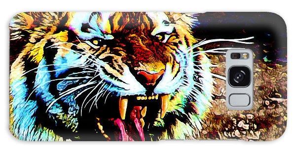 A Tiger's Roar Galaxy Case by Zedi