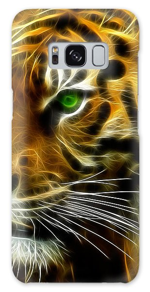 A Tiger's Stare Galaxy Case