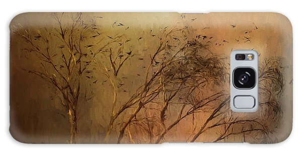 Galaxy Case featuring the digital art A Touch Of Autumn by Nicole Wilde