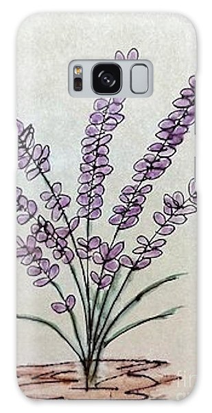 A Touch Of Lavender Galaxy Case