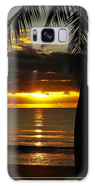 A Touch Of Paradise Galaxy Case by Holly Kempe