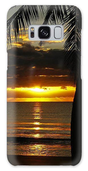 A Touch Of Paradise Galaxy Case
