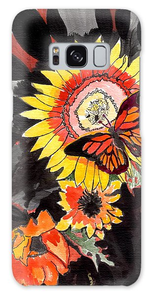 A Touch Of Summer Galaxy Case by Connie Valasco