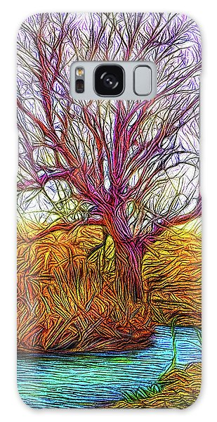 A Tree Greets Springtime Galaxy Case