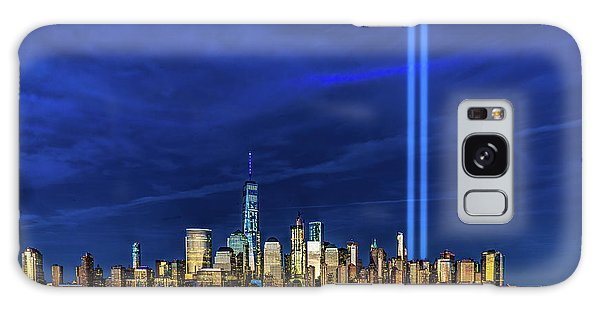 Galaxy Case featuring the photograph A Tribute At Dusk by Chris Lord