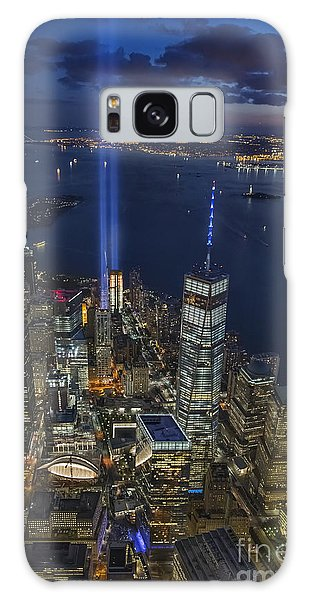 A Tribute In Lights Galaxy Case