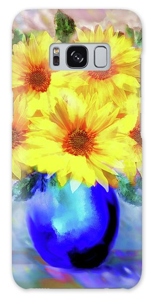 A Vase Of Sunflowers Galaxy Case