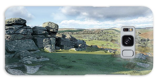 A View From Combestone Tor Galaxy Case
