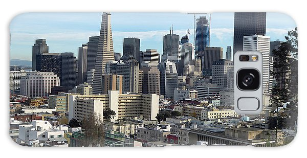 A View Of Downtown From Nob Hill Galaxy Case