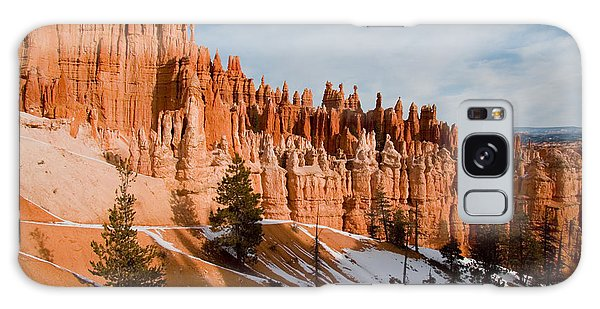 Desert View Tower Galaxy Case - A View Of The Hoodoos And Other Eroded by Taylor S. Kennedy