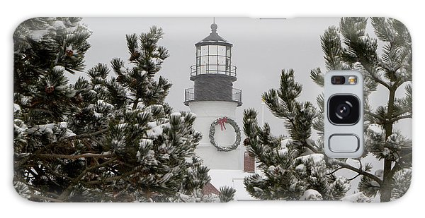 A View Of The Portland Head Light Galaxy Case