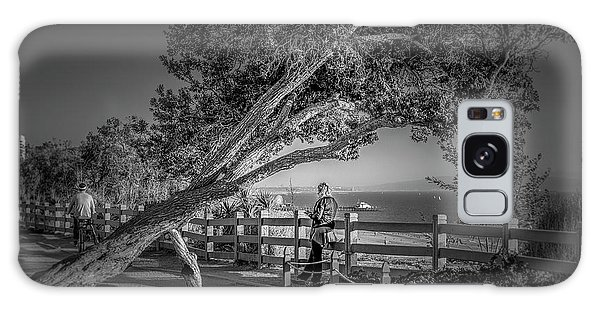 A Walk In The Park B And W Galaxy Case