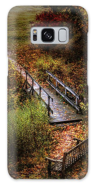 Beautiful Galaxy Case - A Walk In The Park II by Tom Mc Nemar