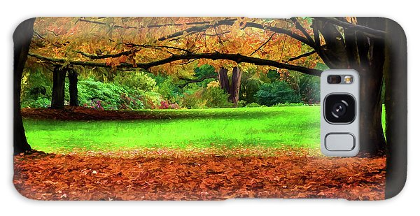 A Walk In The Park Galaxy Case by Jordan Blackstone